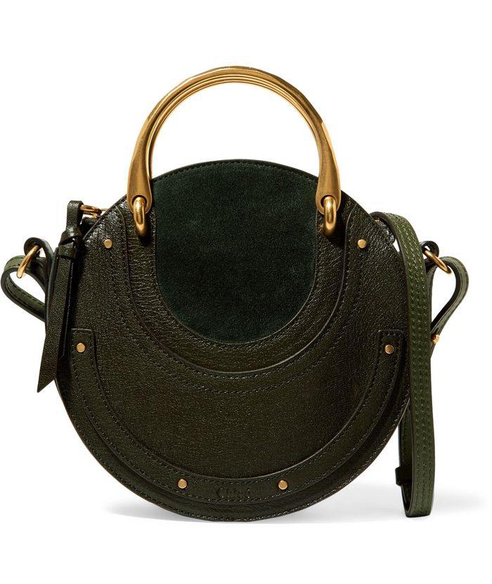 shop-chloe-pixie-green-suede-textured-leather-shoulder-bag