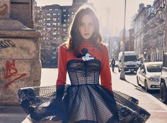 The Mickey and Minnie trend is back for fall (courtesy of Marc Jacobs and Victoria Beckham)