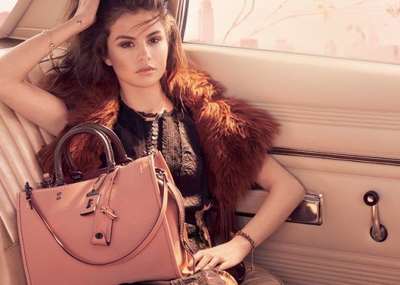 You can now shop Selena Gomez x Coach Grace bag