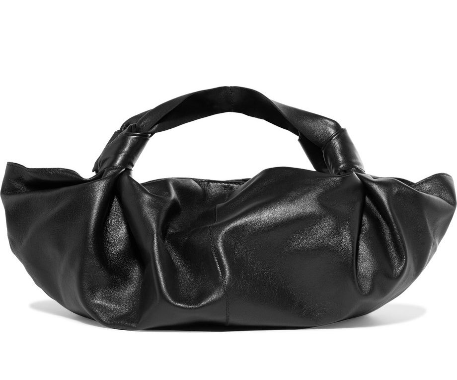 shop-the-row-ascot-knot-black-leather-bag