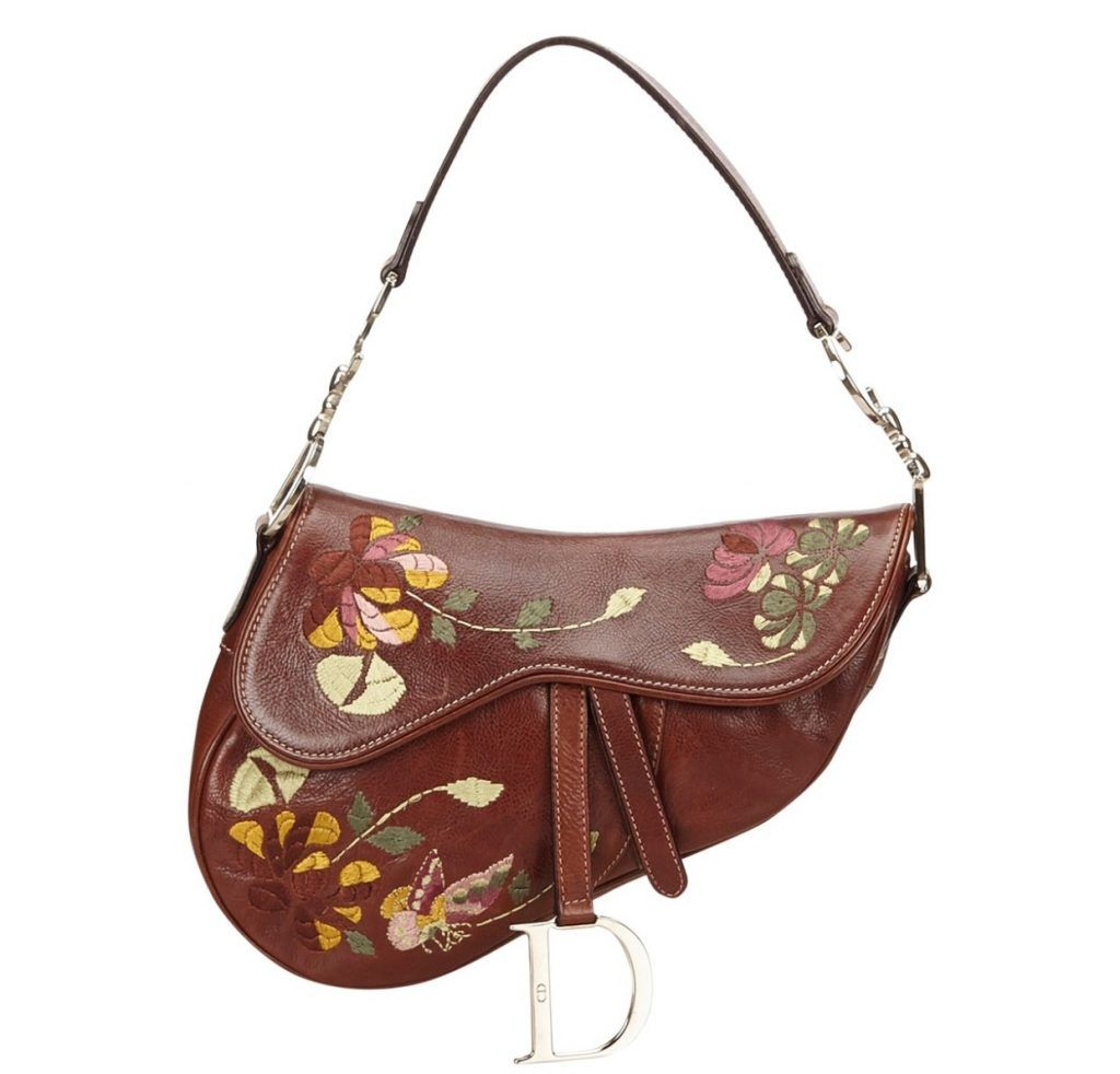 shop-dior-saddle-bag-brown-leather-floral-embroideries