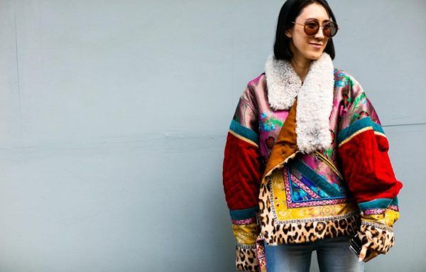 Eva Chen just wore the most amazing jacket of the season