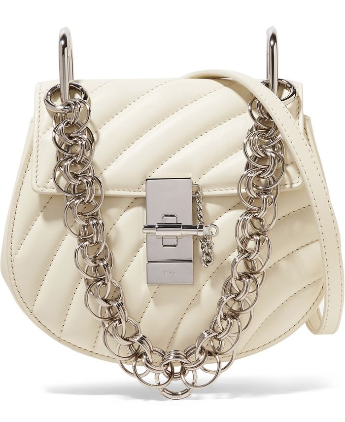 chloe-drew-bijou-white-leather-shoulder-bag