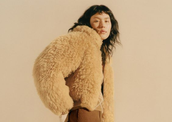 Will the Acne Studios Linne shearling jacket make you forget about the Velocité?