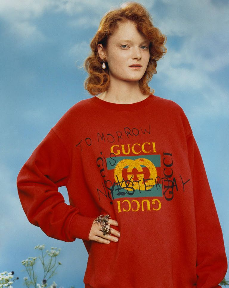 shop-gucci-coco-capitan-red-cotton-sweatshirt