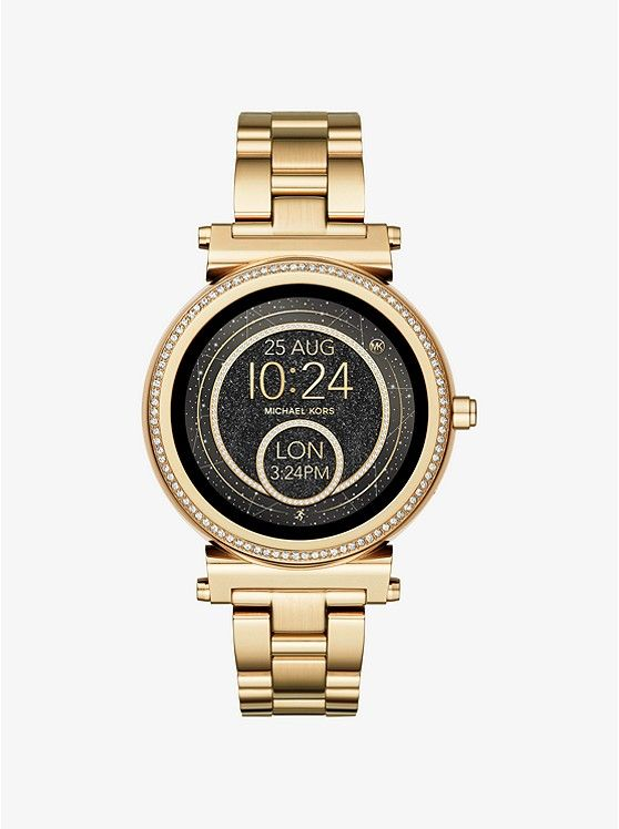 shop-michael-kors-smartwatch-gold-tone