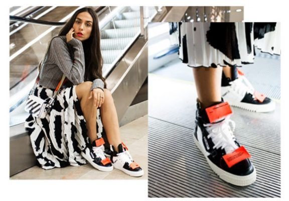 Off White's first ever women's sneakers are OUT (thanks to MyTheresa)