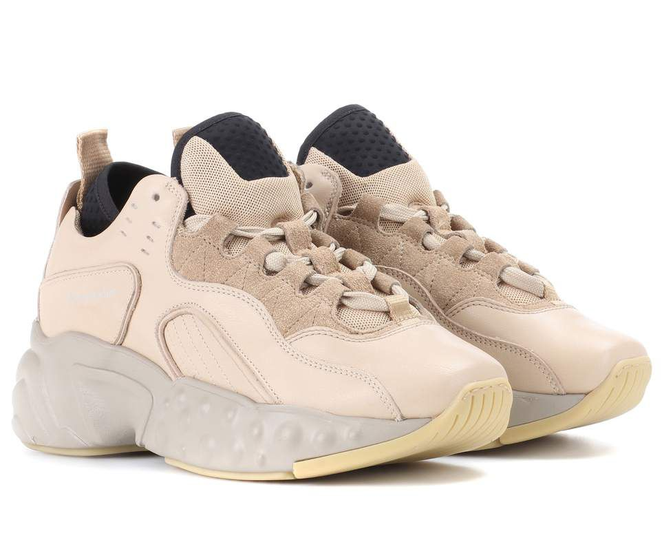 acne-studios-manhattan-beige-leather-sneakers