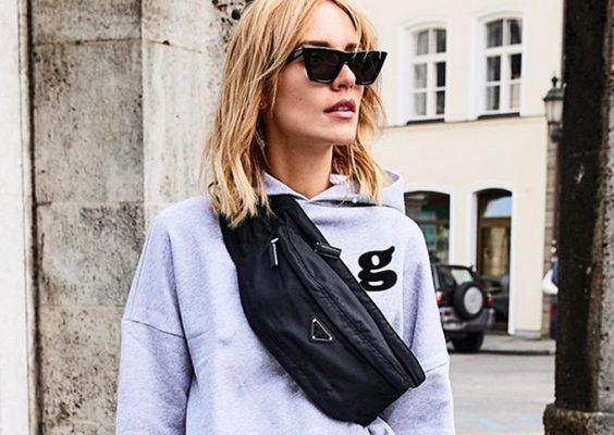 This nylon fanny pack is style influencers latest obsession