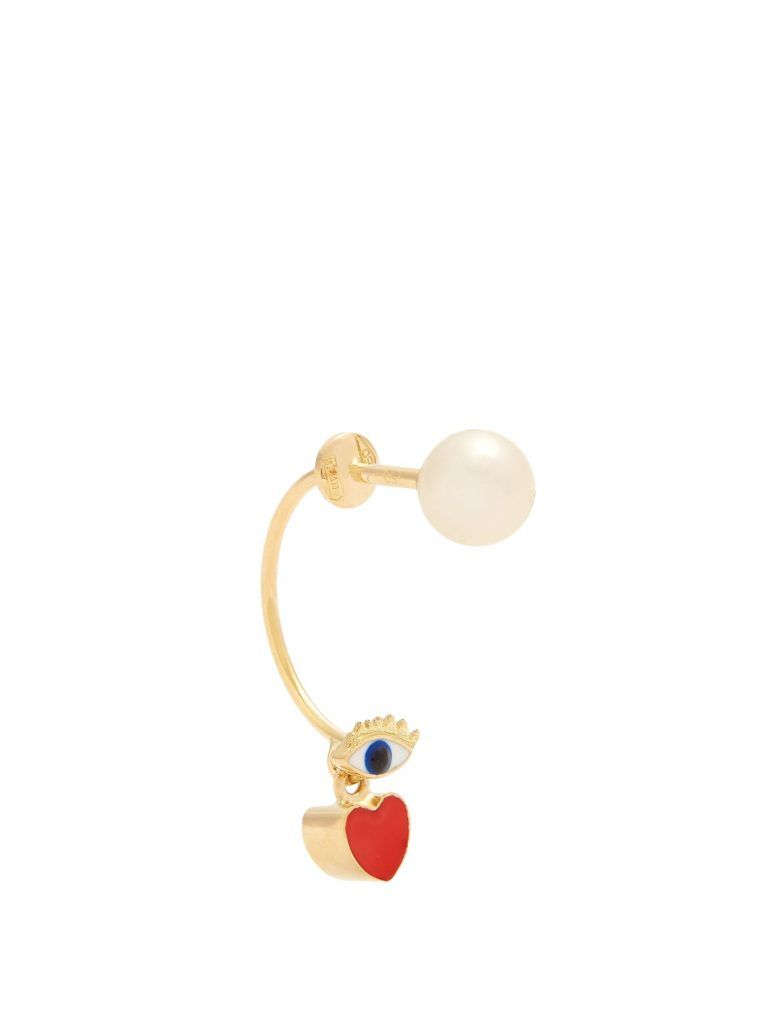 shop-delfina-delettrez-pearl-eye-heart-enamel-gold-single-earring