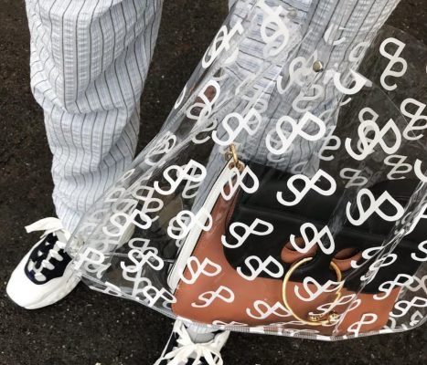 Now trending: see-through bags