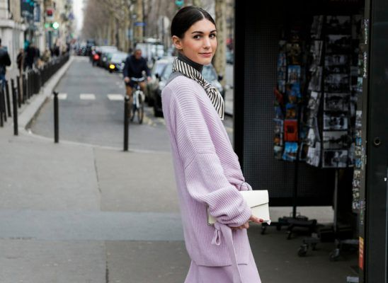 How to pull off a head-to-toe lavender look like a fashion pro