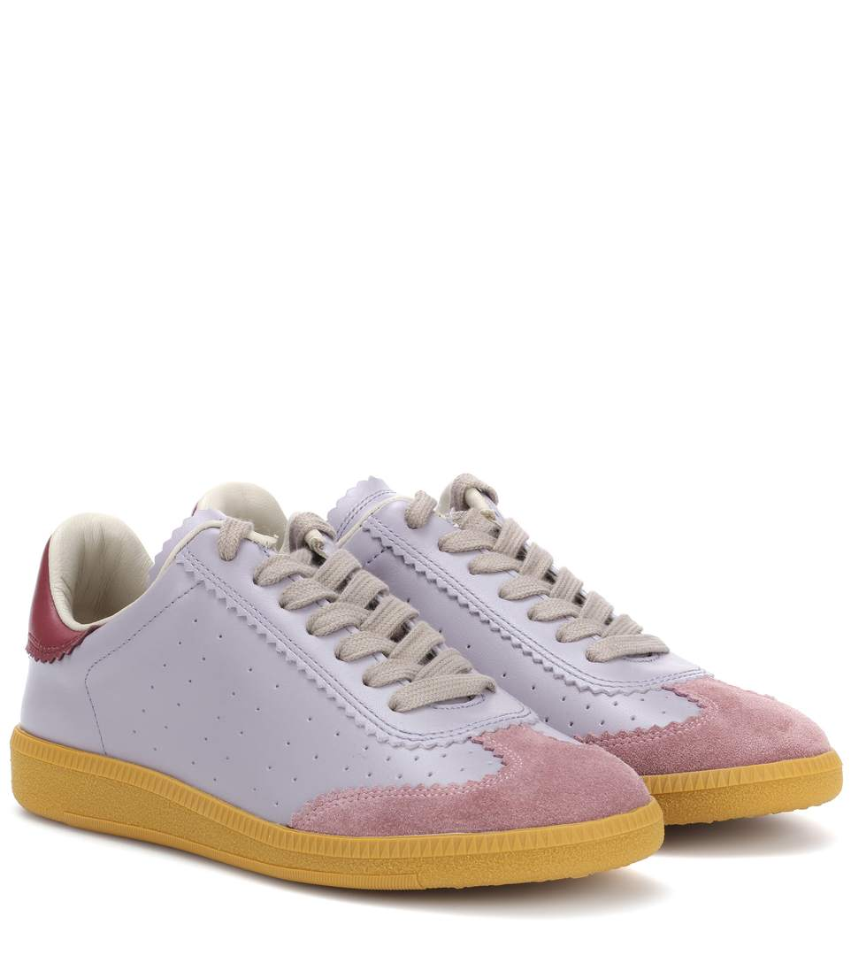 isabel-marant-bryce-lavender-leather-suede-sneakers
