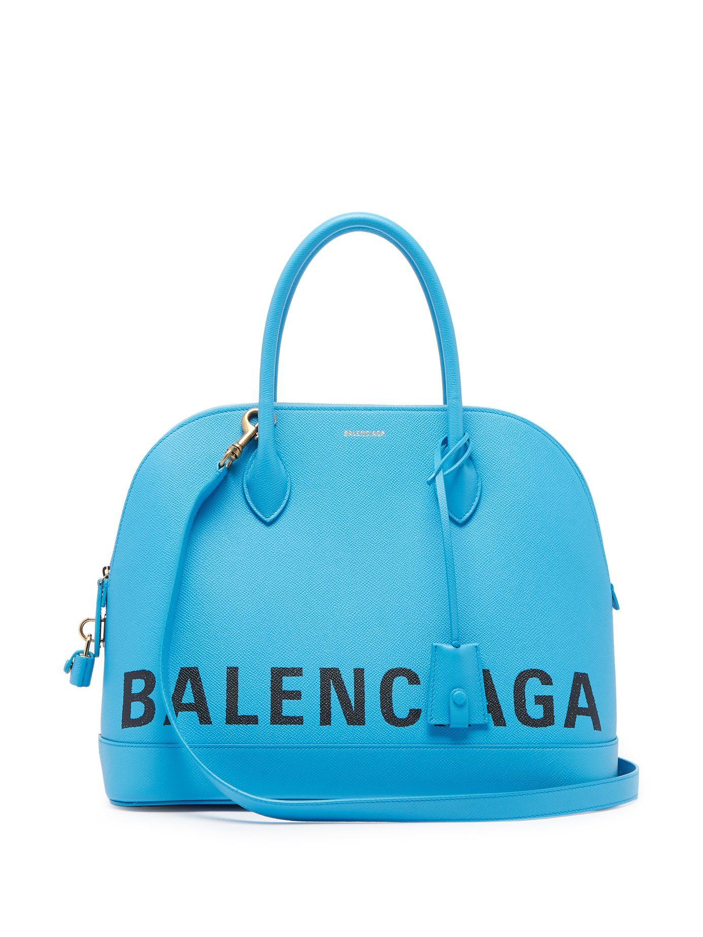 shop-balenciaga-ville-m-turquoise-blue-leather-top-handle-bag