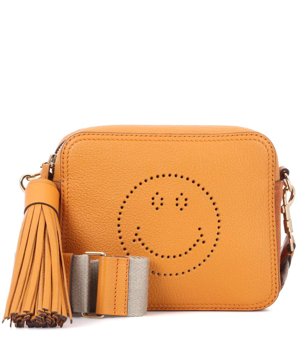 anya-hindmarch-smiley-yellow-leather-bag
