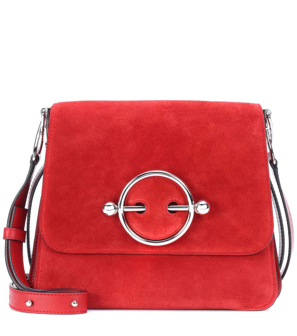 jw-anderson-disc-red-suede-shoulder-bag-sale
