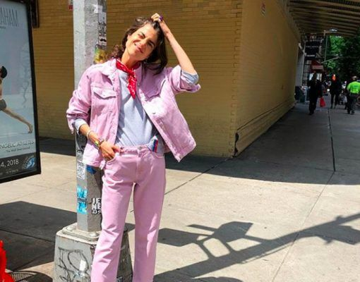 The Canadian tuxedo goes pink