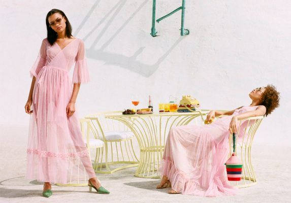 Pink dresses are on every stylish lady Instagram account