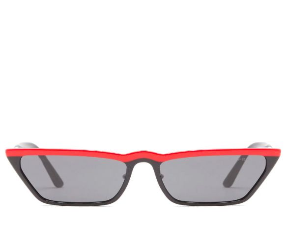 shop-prada-ultravox-cat-eye-black-acetate-sunglasses-featuring-red-trim-ss18