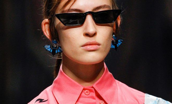 1b088377079 These Prada cat-eye sunglasses