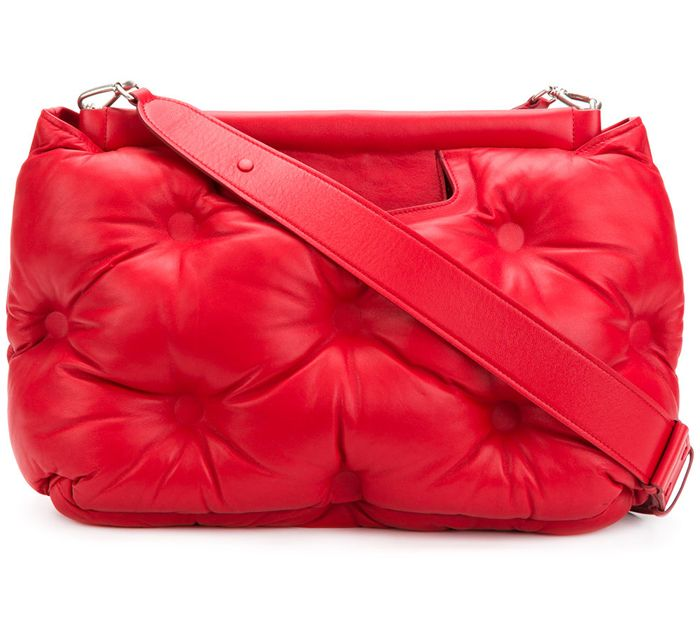 maison-margiela-red-leather-quilted-bag