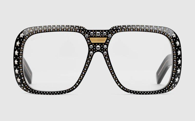 shop-gucci-dapper-dan-crystal-embellished-black-acetate-logo-sunglasses