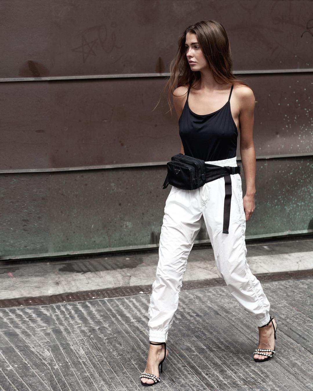 sophia-roe-isabel-marant-shell-track-pants-outfit-instagram