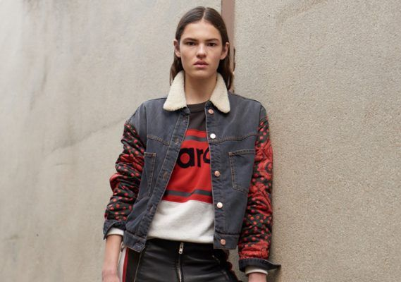 Isabel Marant's sweaters are on every street style gallery this season