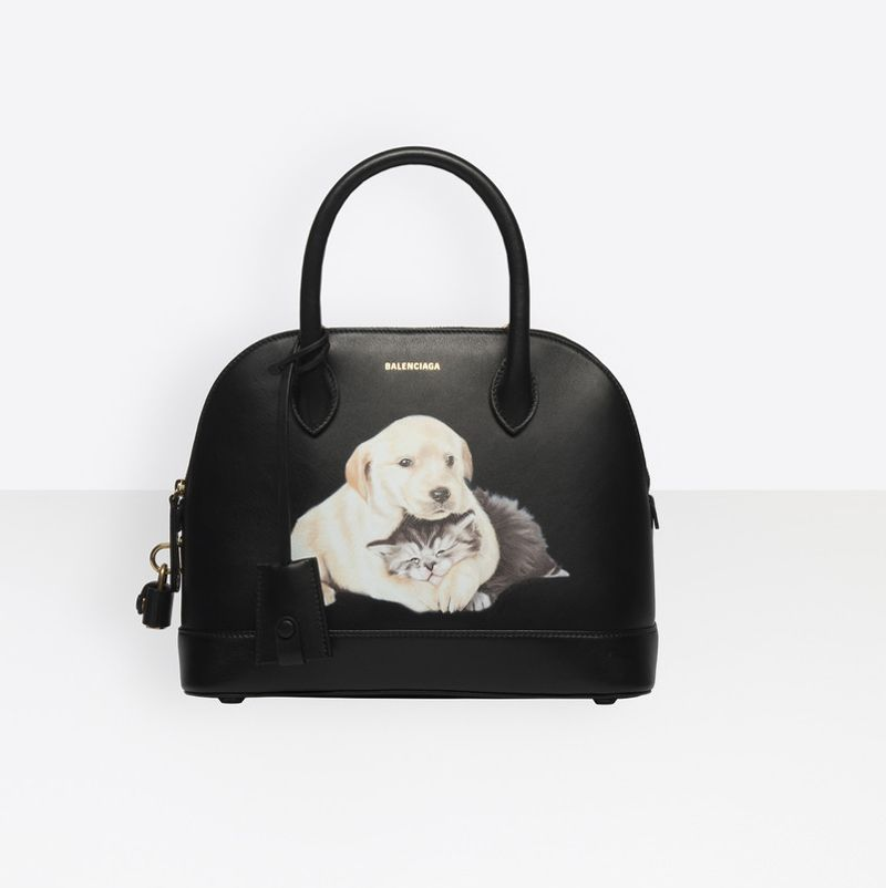 balenciaga-ville-s-puppy-kitten-printed-black-leather