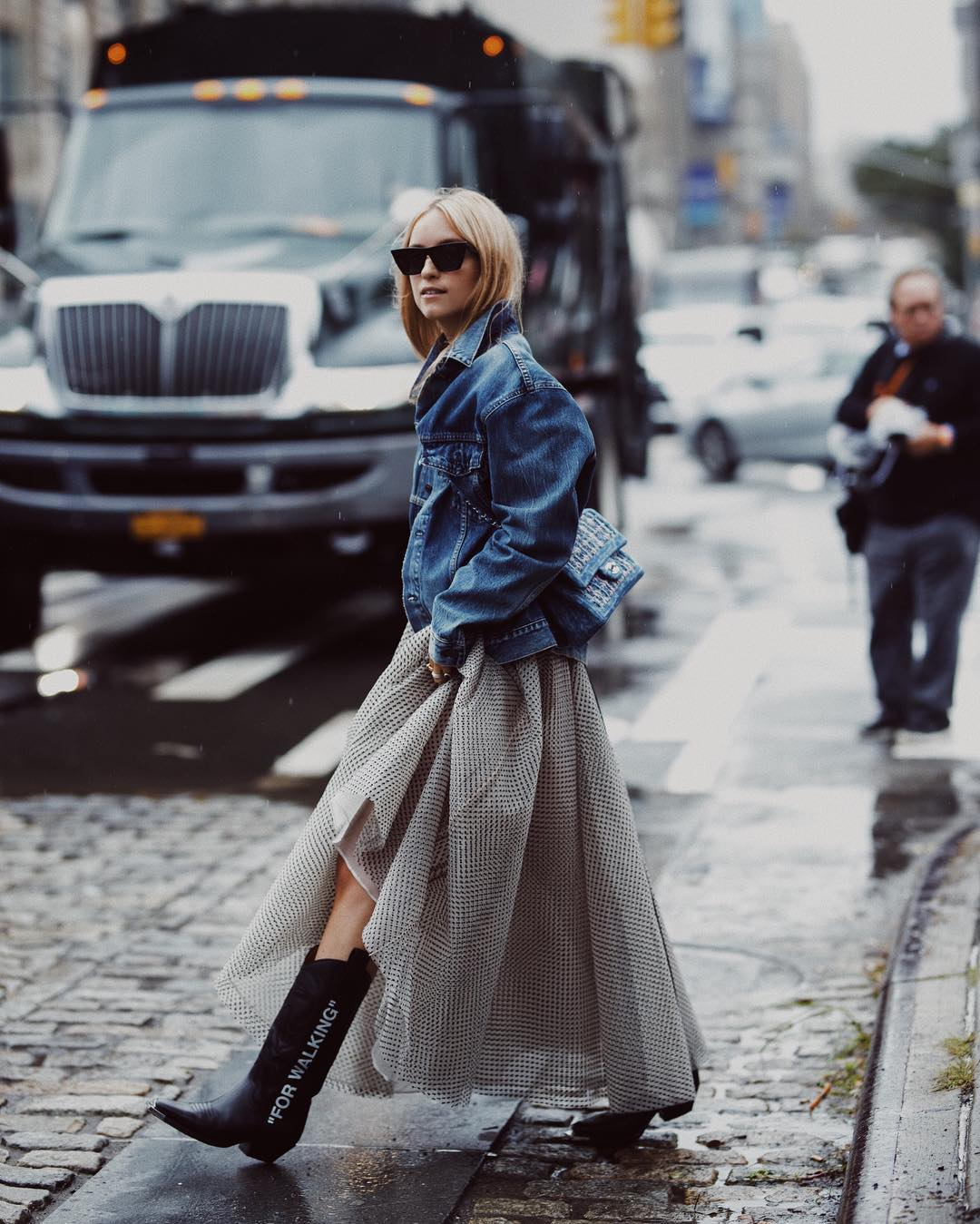charlotte-groeneveld-off-white-for-walking-comboy-boots-street-style-nyfw-ss19