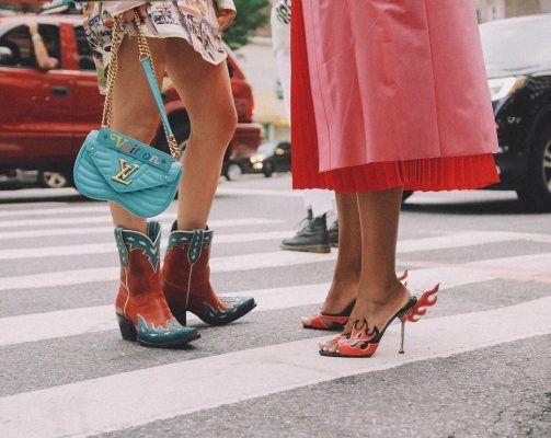 Here's how fashion girls are updating their style with Fall 2018 cowboy boots