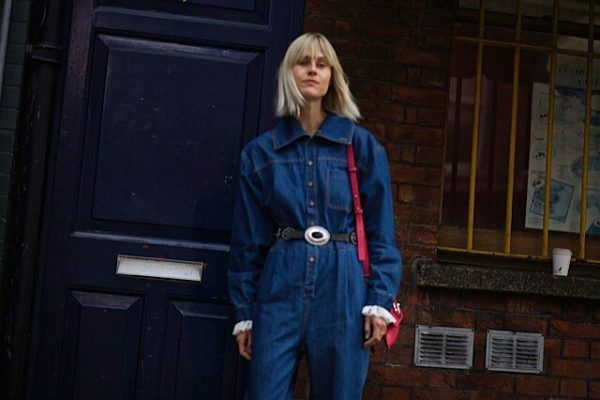 This skiwear-inspired jumpsuit with a retro vibe is the new boilersuit