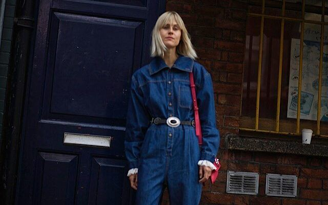 274c68895768 The boilersuit trend gets an update with this Ganni Faust jumpsuit