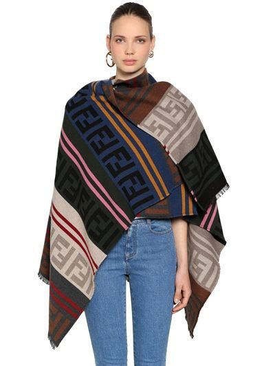 shop-fendi-logo-poncho