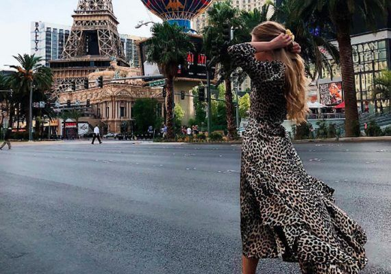 All the leopard-print dresses style girls are wearing on Instagram