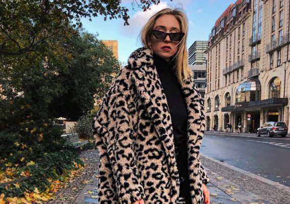 Cool girls are keeping warm in this Max Mara Edy leopard-print coat (and more)
