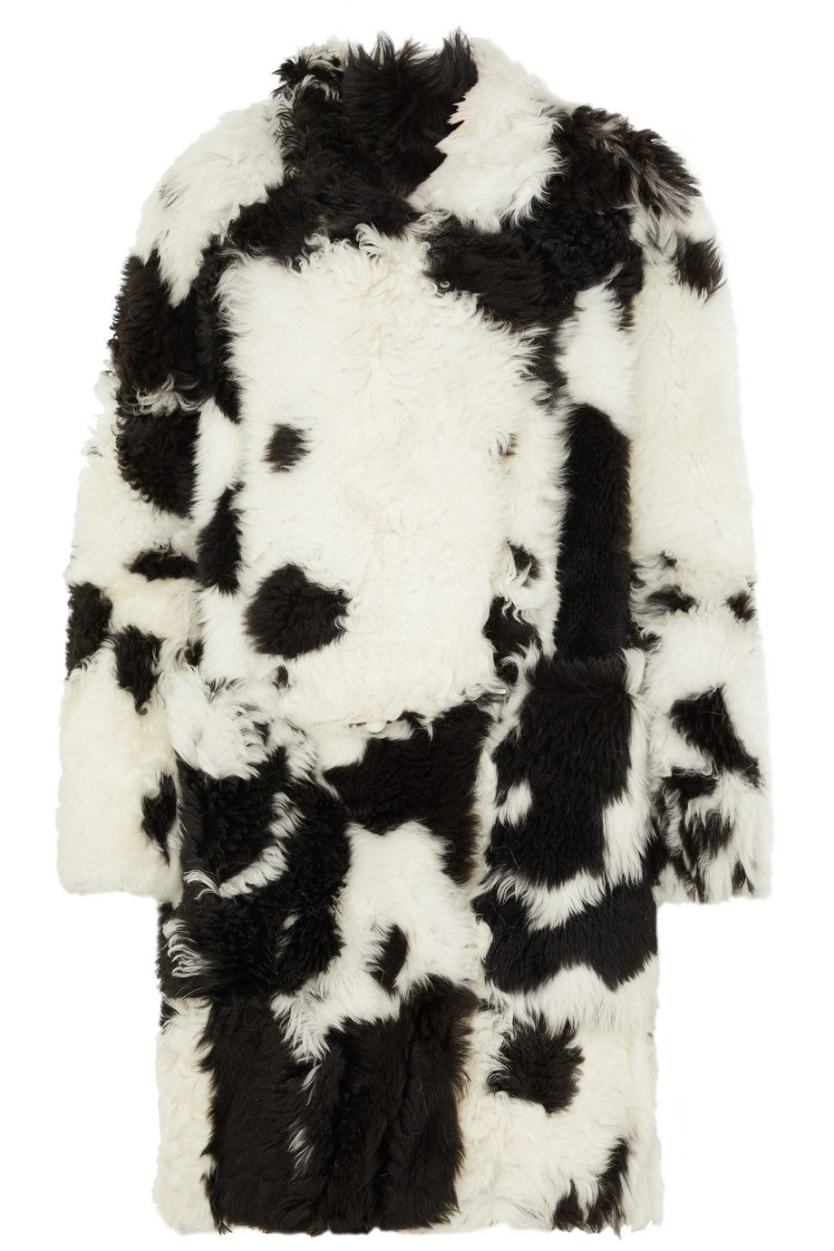 petar-petrov-black-and-white-shearling-coat