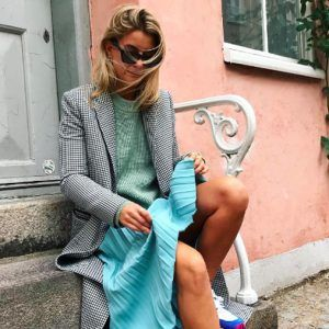 pleated-skirt-sweater-combo-instagram-trend-fall