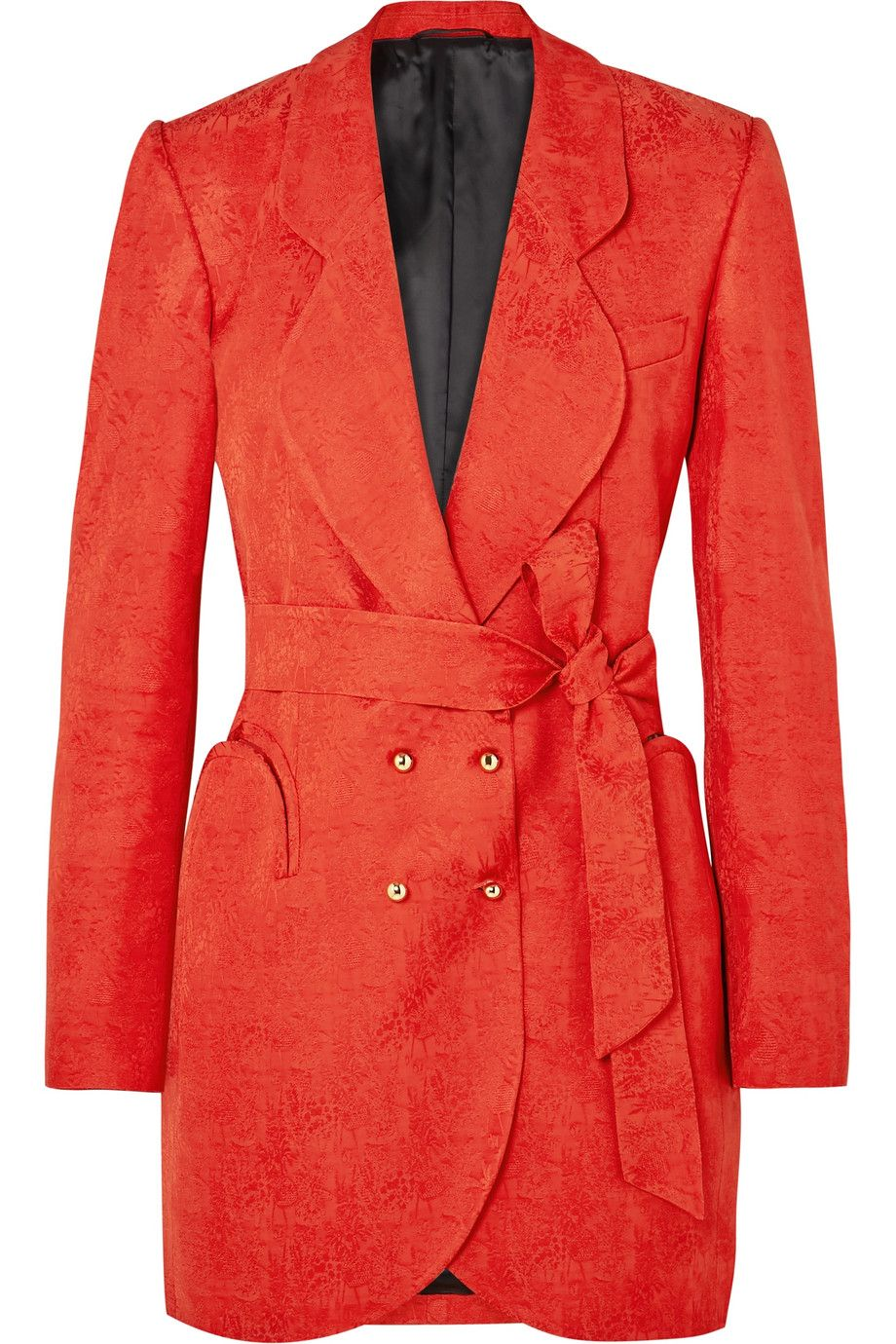 shop-blaze-milano-sunshine-red-satin-jacquard-blazer-mini-dress