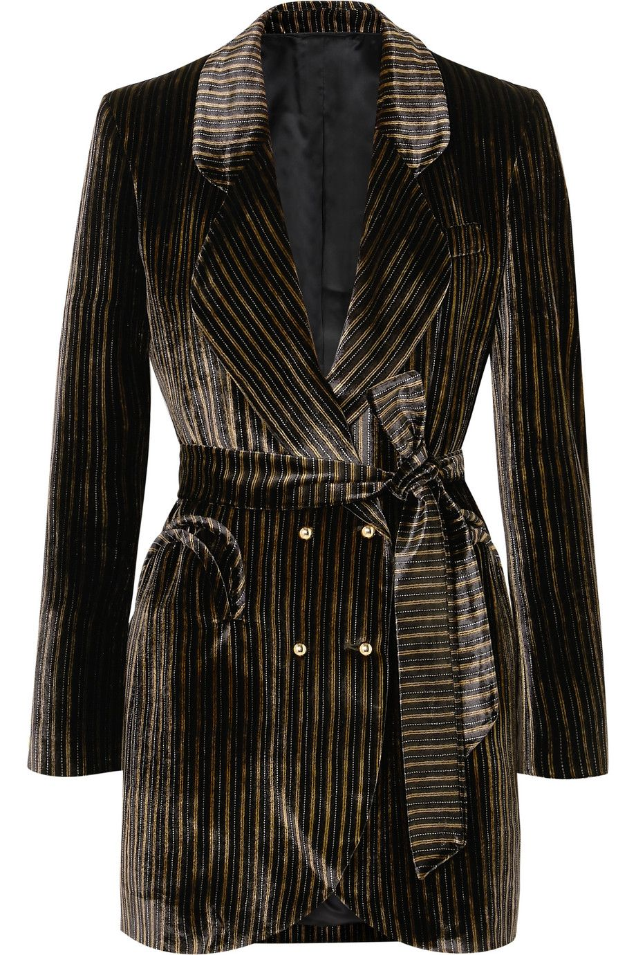 shop-blaze-milano-sunshine-velvet-striped-blazer-mini-dress