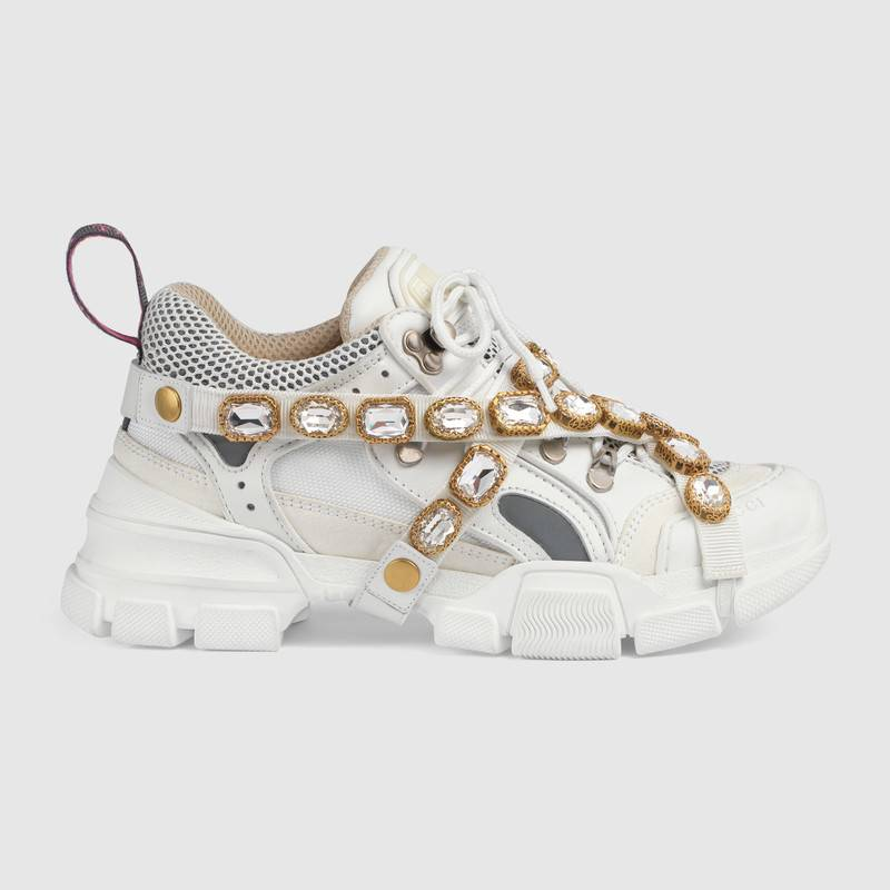 shop-gucci-flashtreck-sneakers-with-removable-crystals-white-leather
