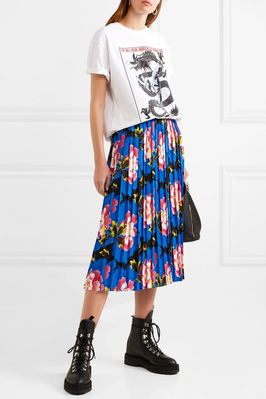 shop-kenzo-pleated-floral-print-midi-skirt