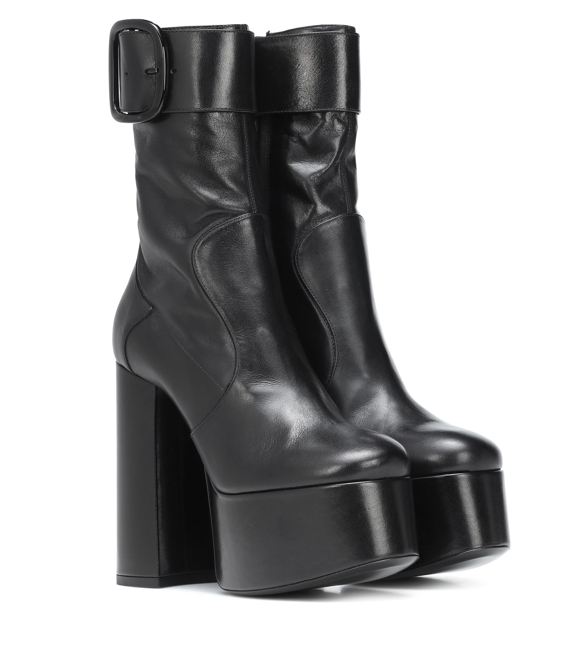 d5824c822e0 We re completely obsessed with Saint Laurent Billy boots