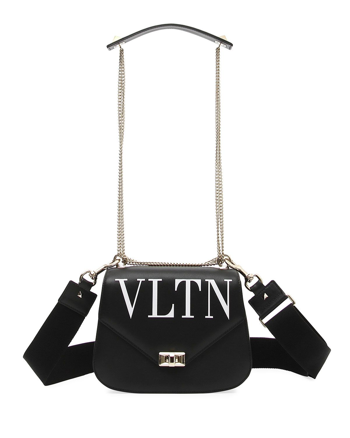 shop-valentino-VLTN-smooth-black-leather-chain-shoulder-bag