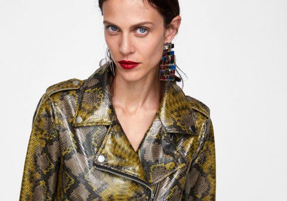 How to incorporate the snake-effect print into your wardrobe