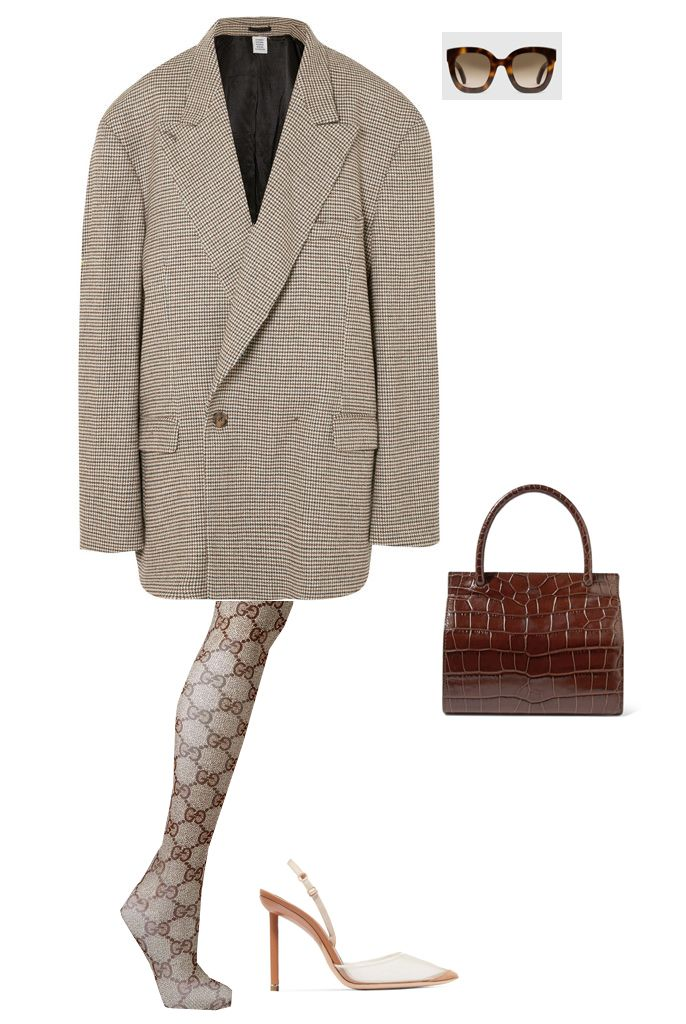vetements-oversize-houndstooth-blazer-dress-outfit-inspiration