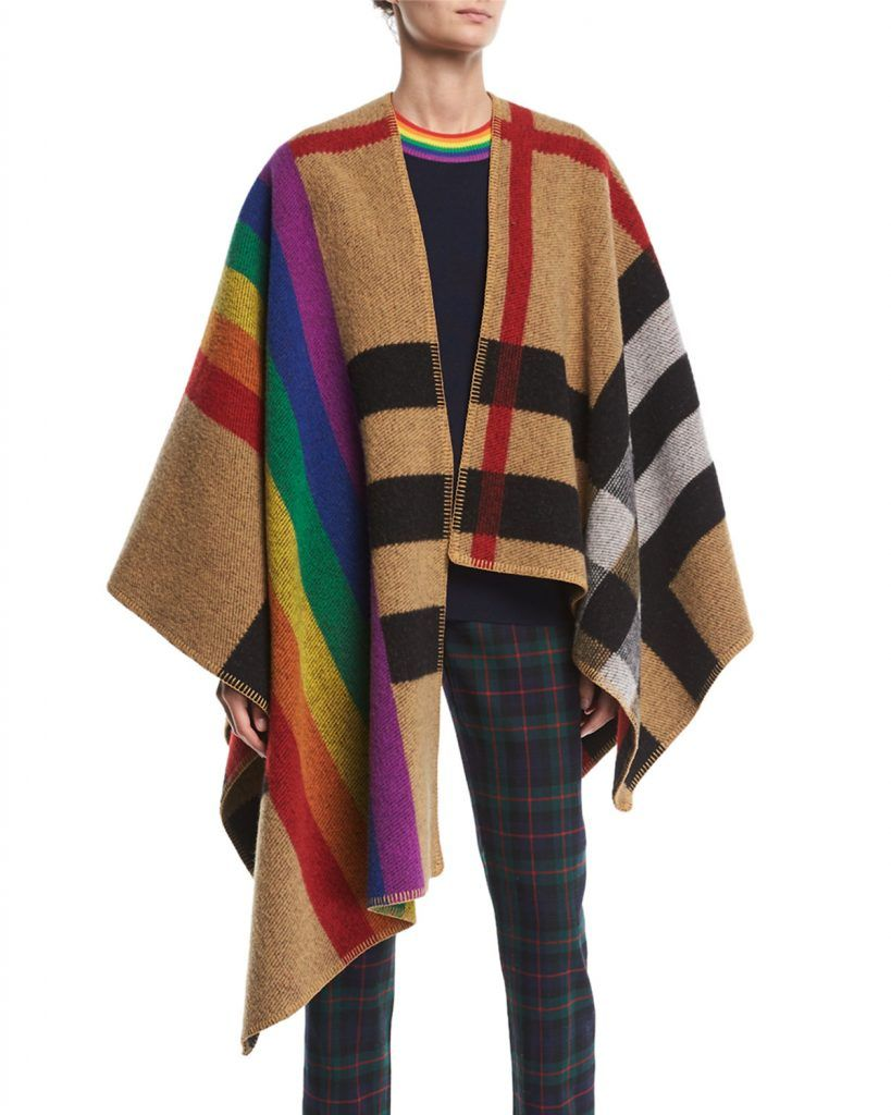 shop-burberry-rainbow-check-cape