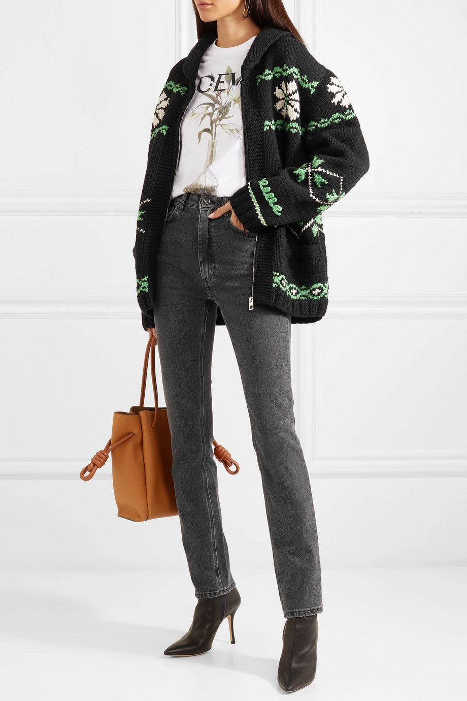 shop-loewe-cashmere-wool-blend-jacquard-fair-isle-pattern-cardigan