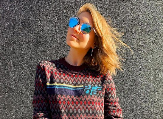 This Fair Isle sweater style girls love is the pretty alternative to the ugly Christmas one