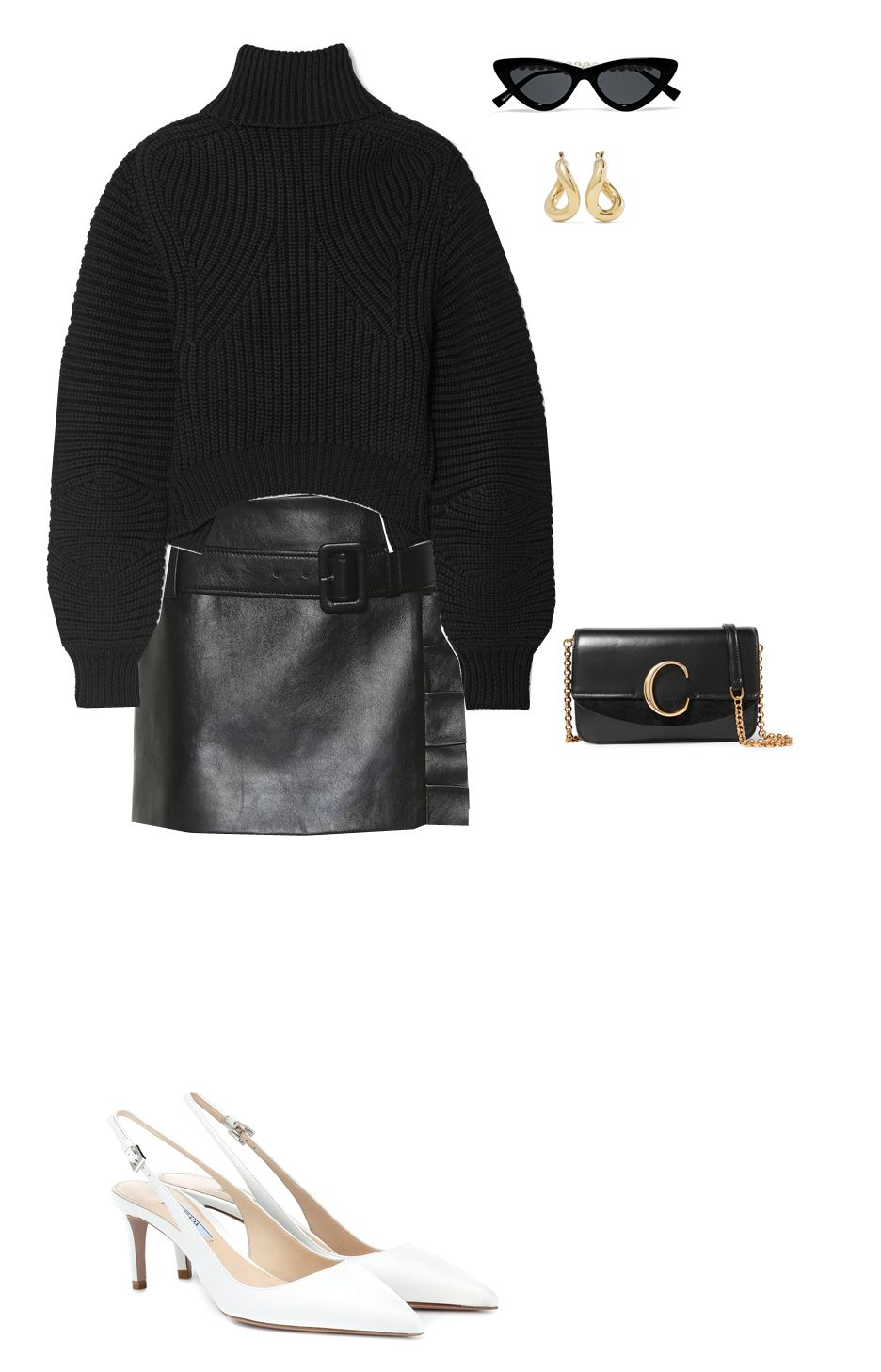 leather-mini-skirt-party-look